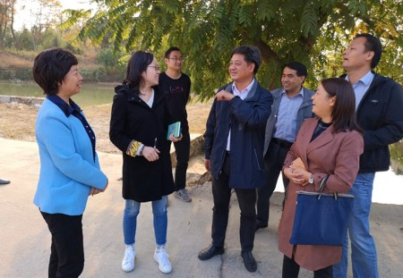 Li Xia went to Huangshan District to carry out a democratic supervision and investigation