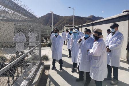 赵皖平应邀代表最高检视察西藏公益诉讼检察工作