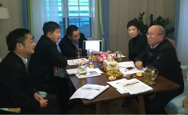 民建省委原主委方兆本带队考察劲旅环境科技有限公司