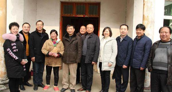 赵皖平带队赴颖泉区开展对口扶贫及春节慰问工作