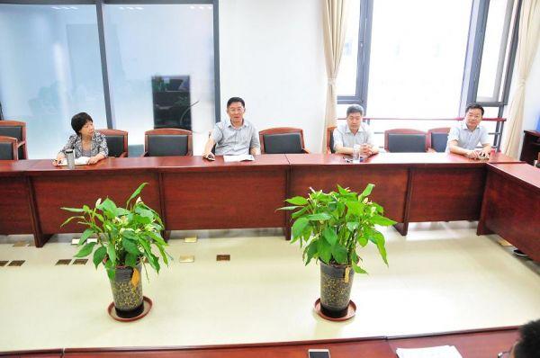 民建安徽省委机关召开会议迎送李霞、陈广文两同志