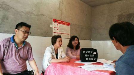 李霞率队赴岳西县开展脱贫攻坚民主监督工作