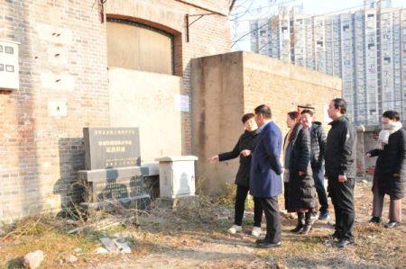 李修松赴蚌埠市固镇县调研文化遗址保护利用工作