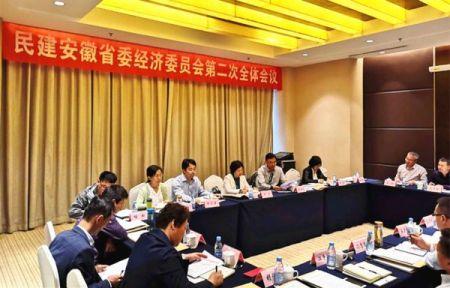 民建安徽省九届经济委员会第二次全体会议在合肥召开